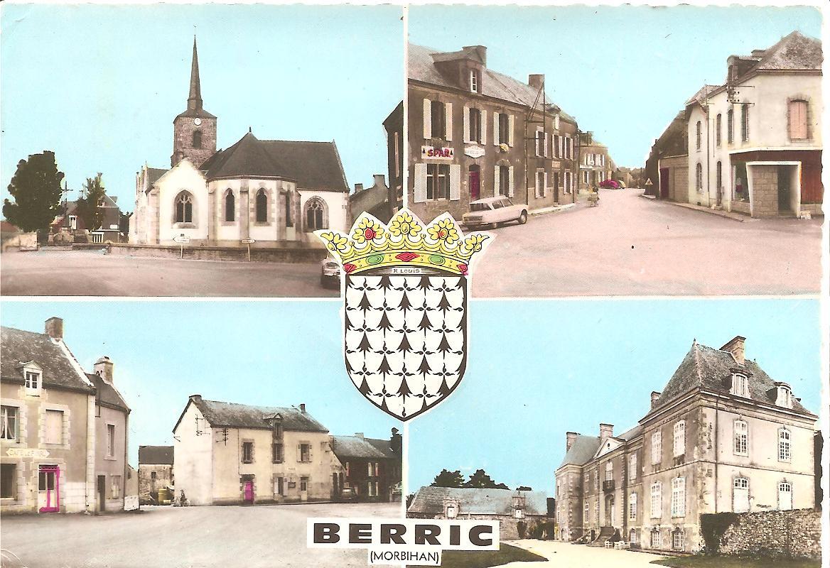 BERRIC - Vue de divers lieux de berric