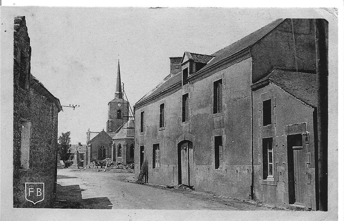 BERRIC - place principale 1940