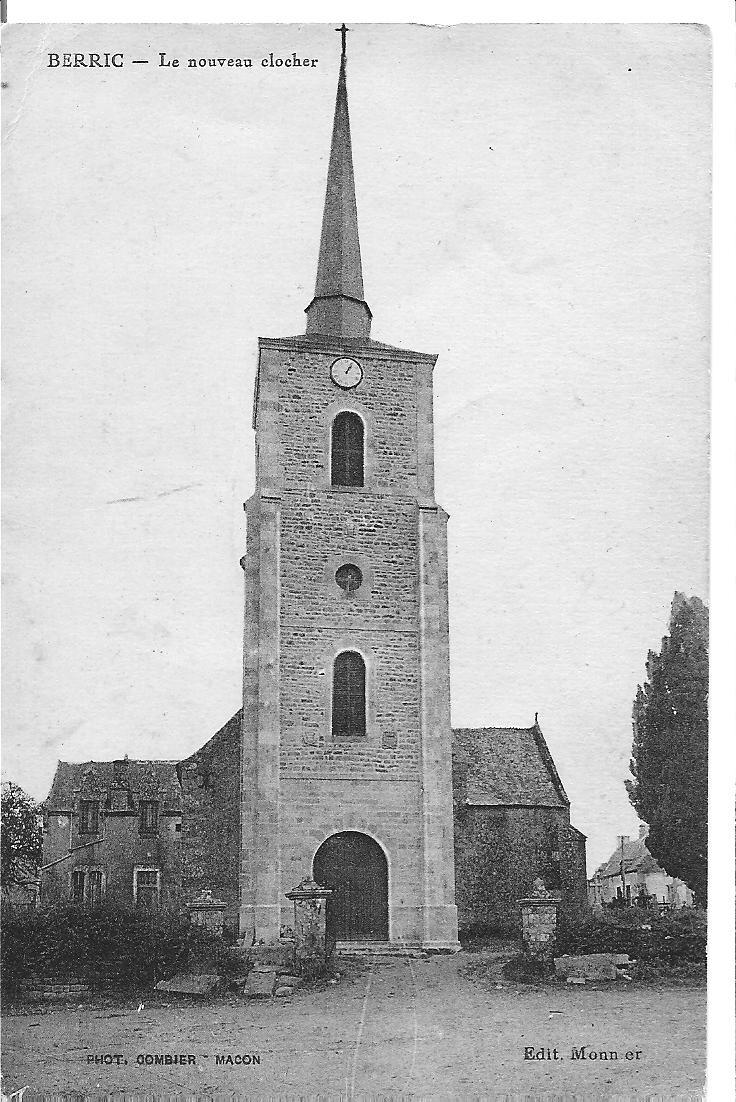 BERRIC - le nouveau clocher