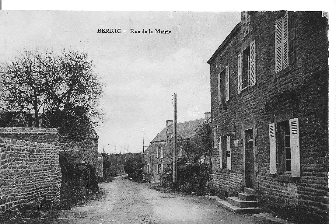BERRIC - Route de Berric 1930